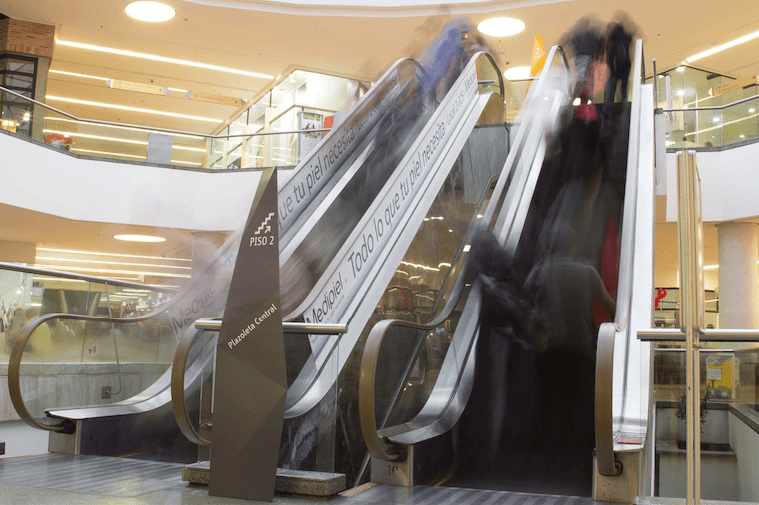 Totém escaleras